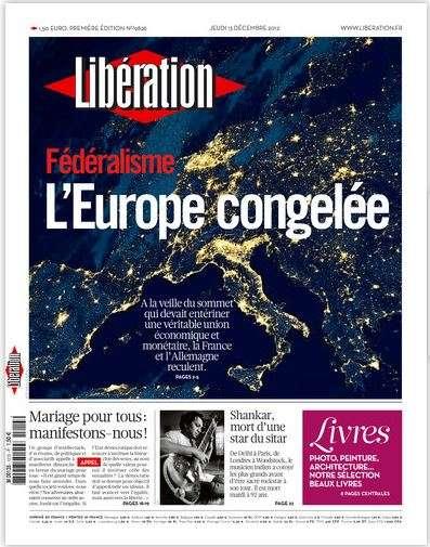 Libération Jeudi 13 décembre 2012
