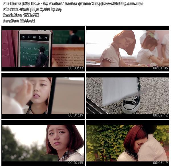 [MV] NC.A - My Student Teacher (Drama Ver.) [HD 720p Youtube]