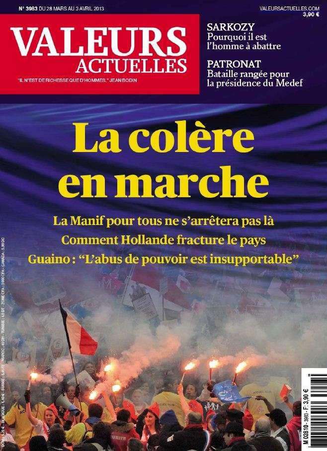 Valeurs Actuelles N°3983 du 28 Mars au 3 Avril 2013