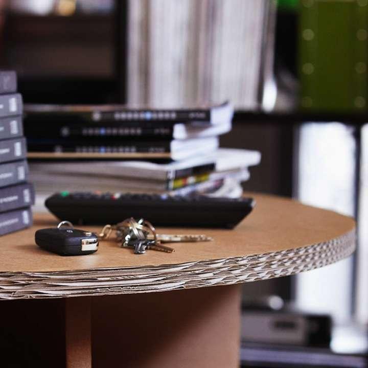 karton04 - Decoración Eco Chic: Muebles hechos de cartón
