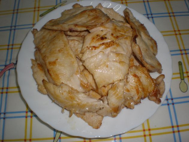 filetesguisados2 - ▷ Filetes de pollo en baño de aceite de maíz  