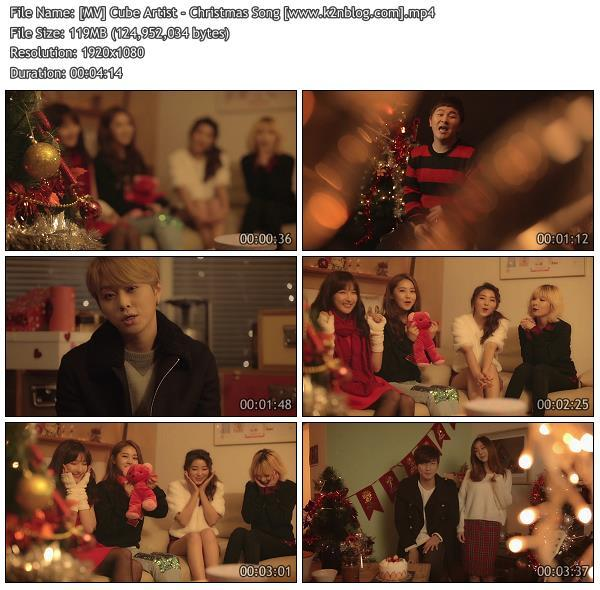 (MV) Cube Artist - Christmas Song (HD 1080p Youtube)