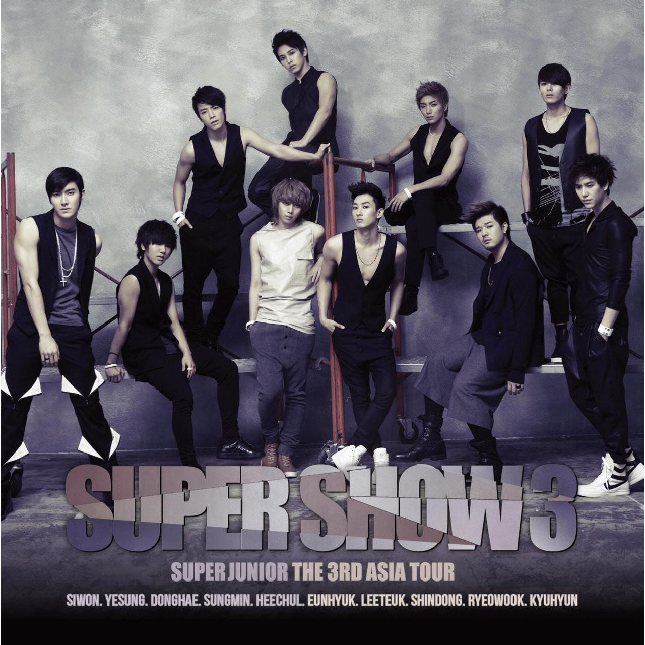 Super Junior - Super Show 3 cover